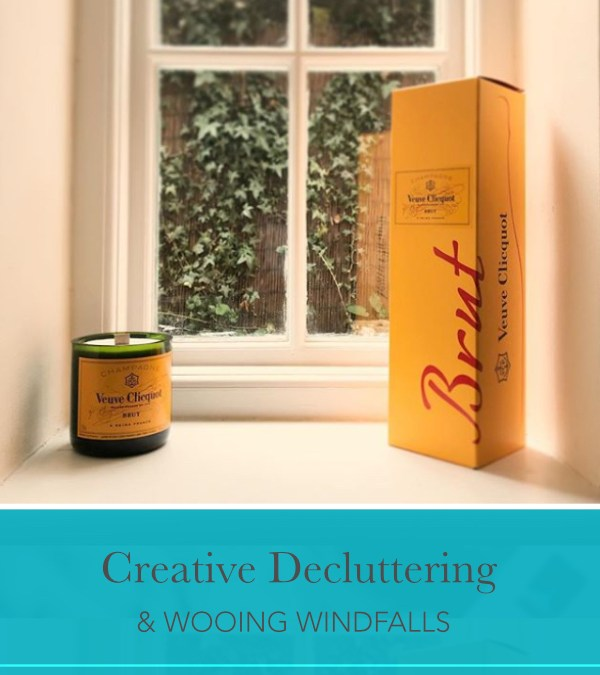 Creative decluttering for wooing windfalls