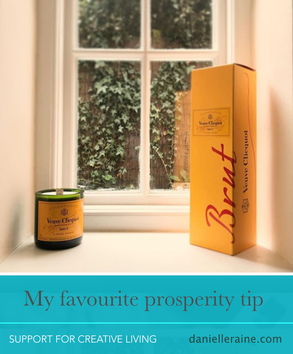 my favourite prosperity tip danielle raine creativity coaching blog