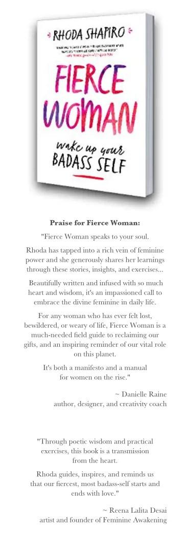 rhoda jordan shapiro book review fierce woman