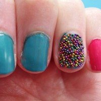 Nail art: Caviar Nails