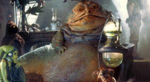 I feel like Jabba the Hutt