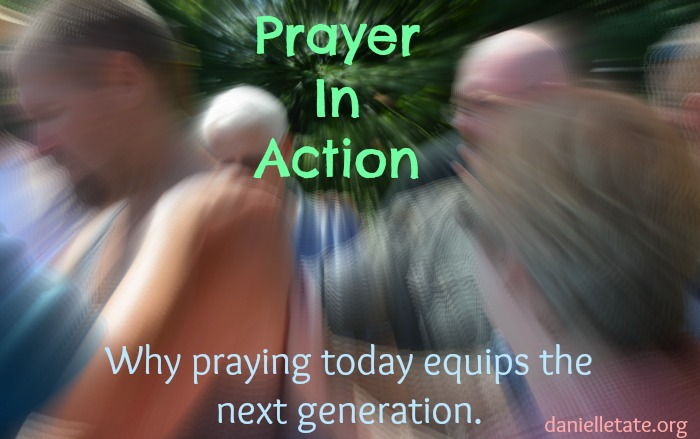 Hands on prayer in your everyday life.