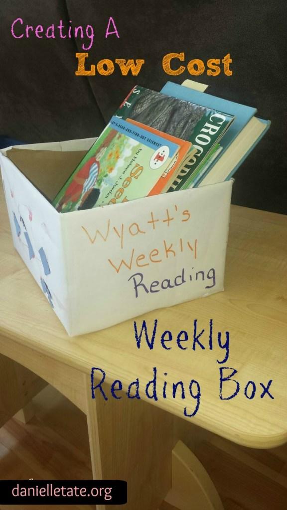 Creating A Weekly Reading Box
