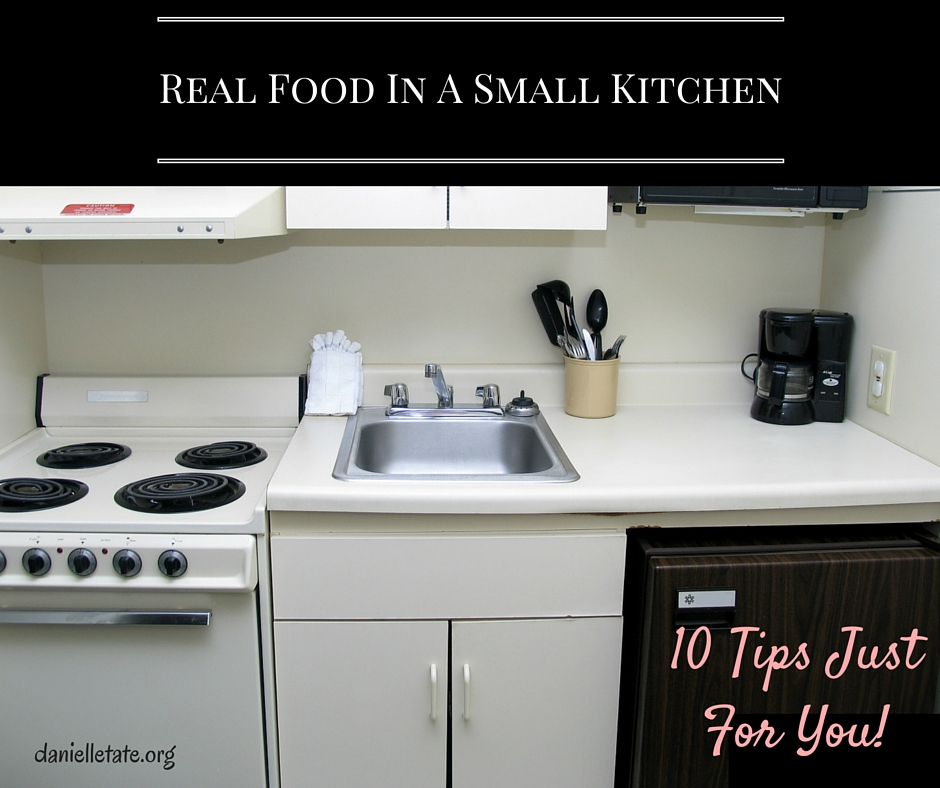 Traditional Foods In A Small Kitchen