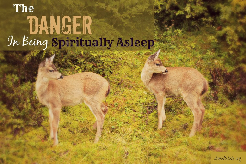 spiritually asleep