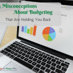 4 Misconceptions About Budgeting FB