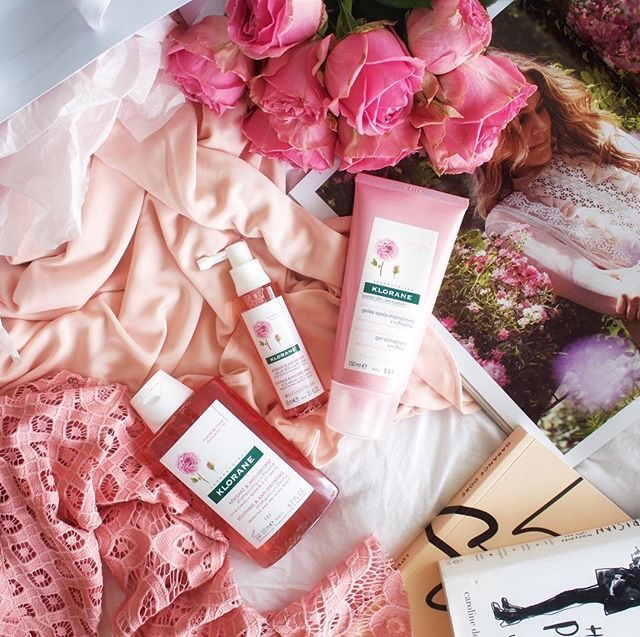 klorane-peony-collection-flatlay-styling-hair-products-how-to-be-parisian