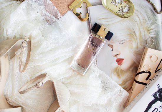 a day in the life modern muse estee lauder fragrance flatlay styling gifts for her