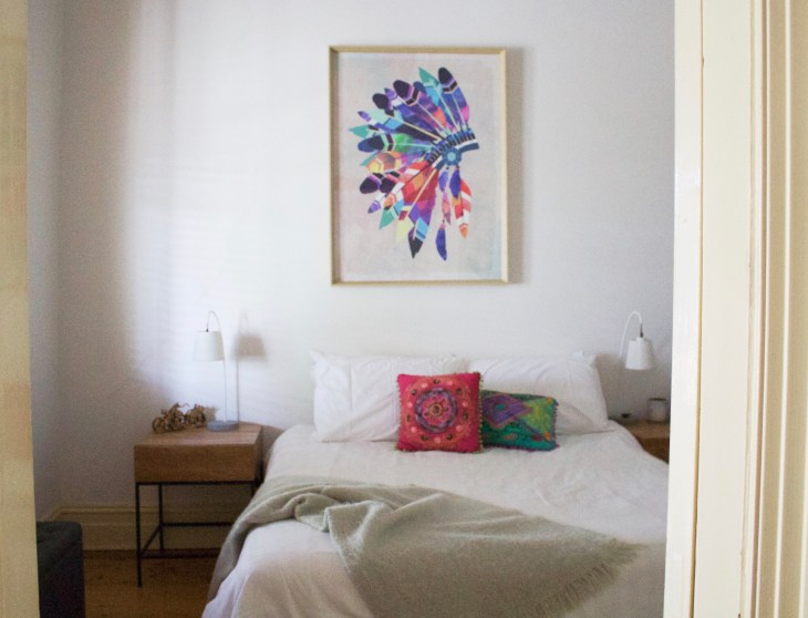 adelaide airbnb getaway lifestyle blogger melbourne bedroom interior cottage