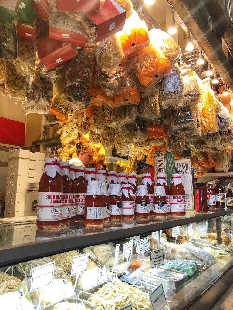the ultimate foodie tour queen victoria market melbourne lifestyle blogger danielle vella to do in victoria the pasta shop