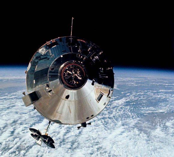 El CM del Apolo 9 (NASA).