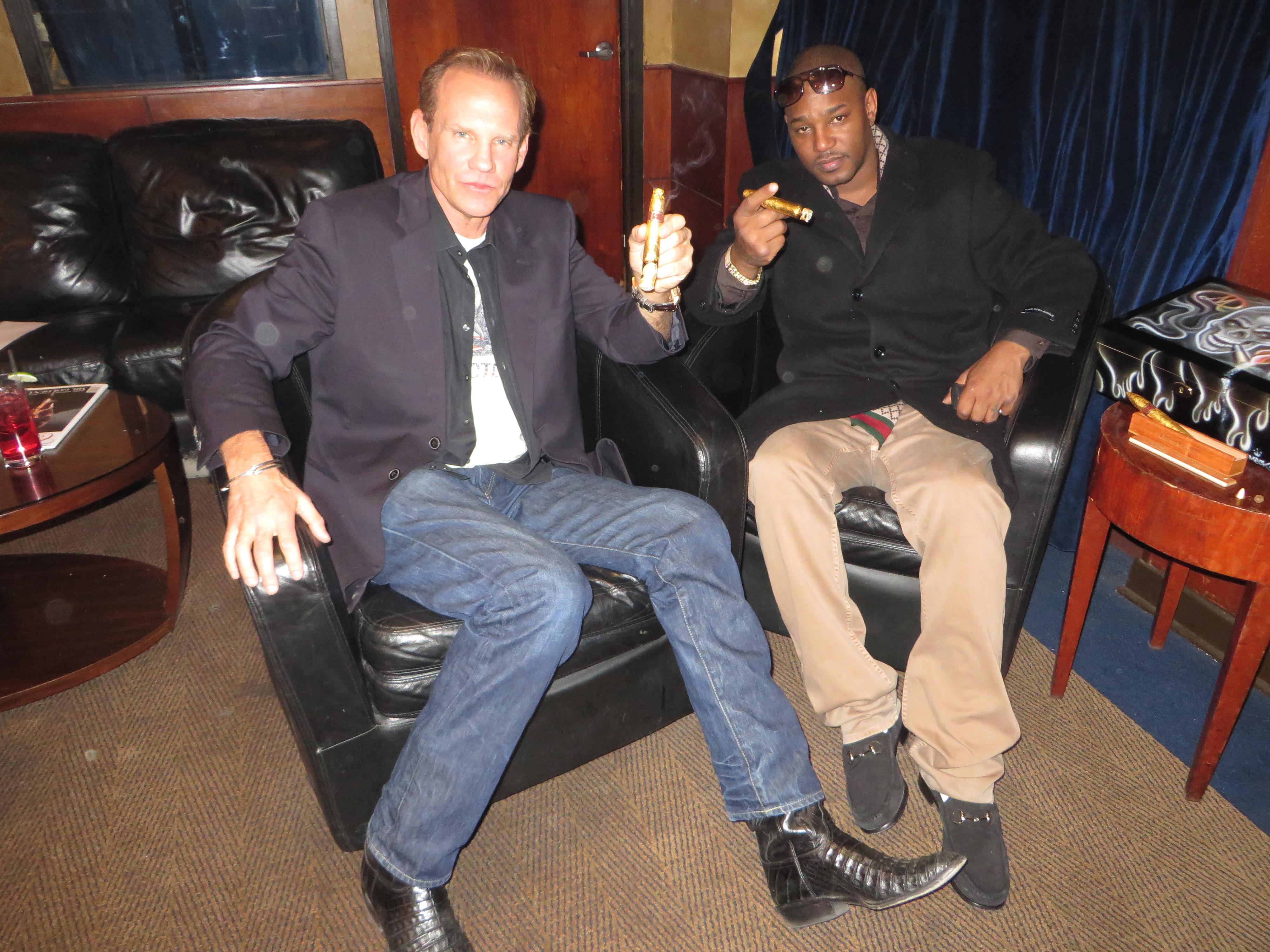 Hip Hop Artist and Actor Camron Grand Havana Room New York