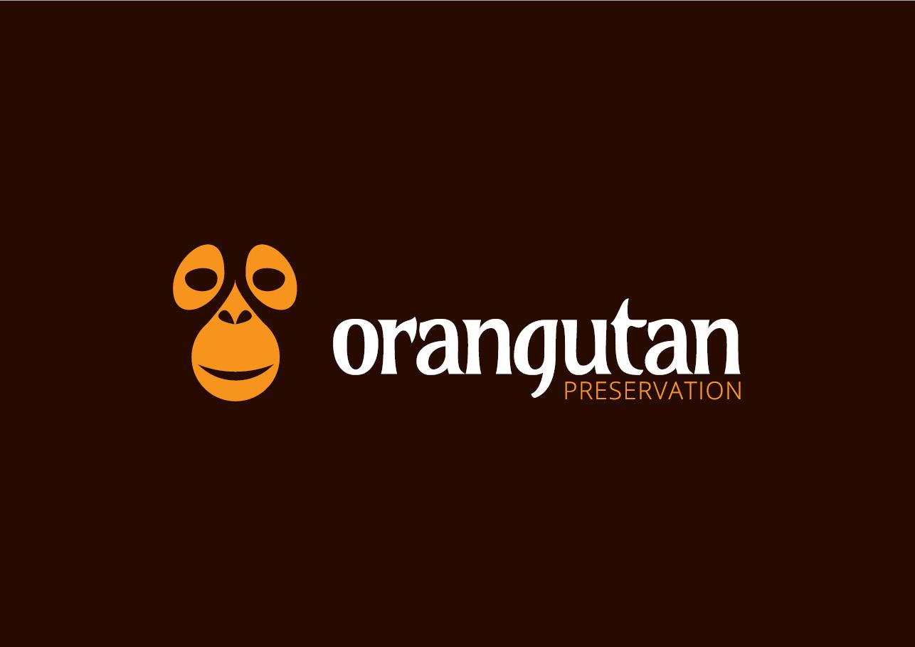 Brand identity for Orangutan Preservation