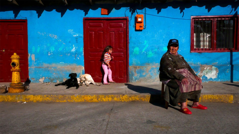 Fin d'après-midi à Chanco au Chili