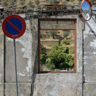 Vue sur les vignobles au Portugal