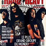 Roadrunner United en couverture du magazine Har'n'Heavy