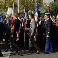 Robert Ménard Centenaire de l'Armistice