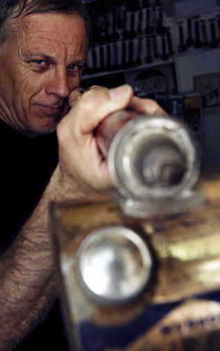 Portrait du dessinateur Frank Margerin