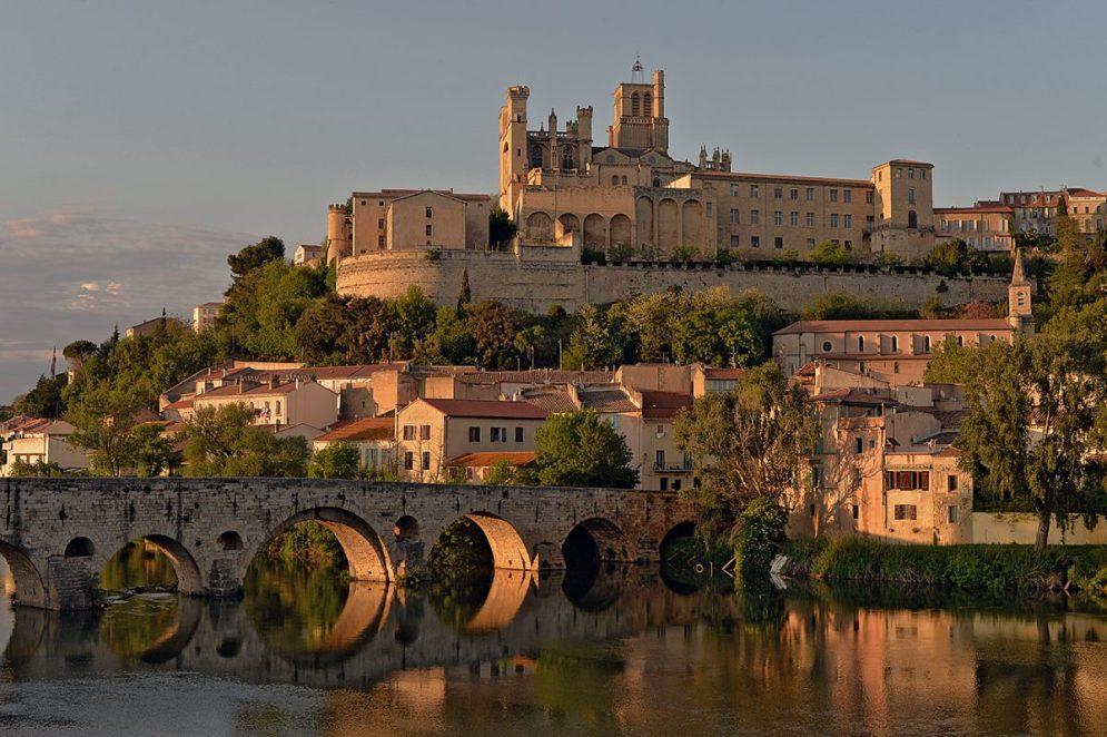 Béziers Pont Vieux Cathédrale Saint Nazaire