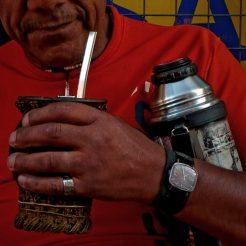Buveur de Maté à Montevideo