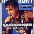 Rammstein en couverture du magazine Hard'n'Heavy