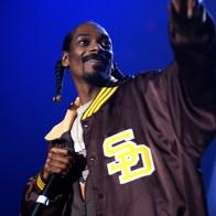 Snoop Dogg sur scène à Bercy Paris