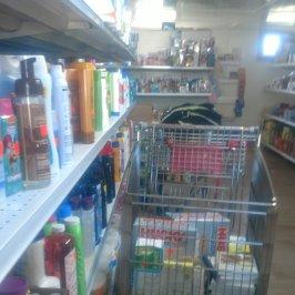 Prairie Lane hygiene and health supplies shelf