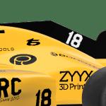 OpenRC F1 2018 Sharkfin