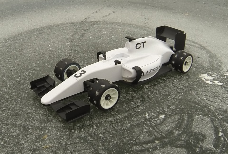 OpenRC F1 w Ice Tires By Palmiga