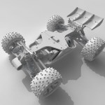 OpenRC Truggy Rendered In TopSolid