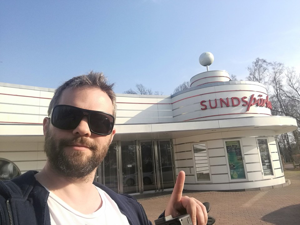 Arriving At Sundspärlan