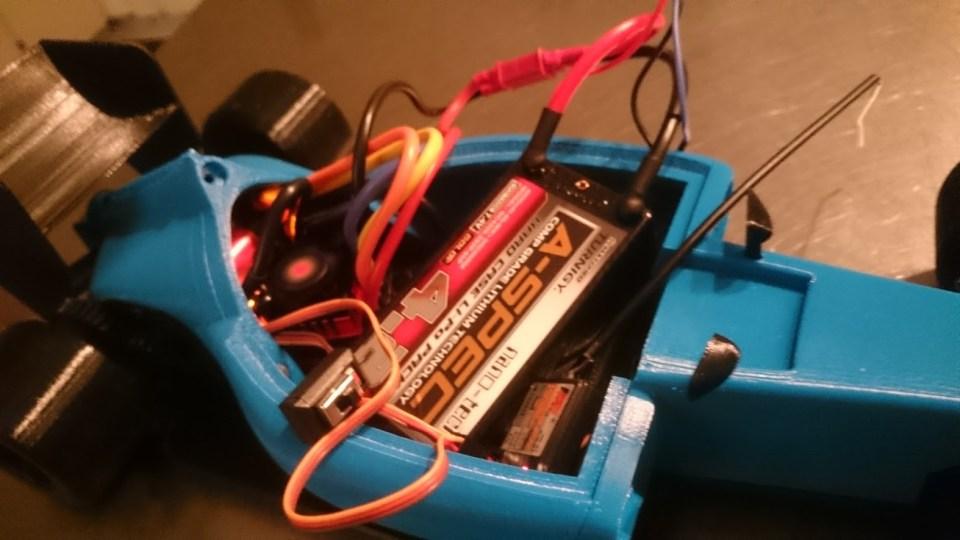 OpenRC F1 Electronics