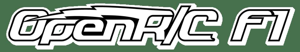 OpenRC F1 Logo White
