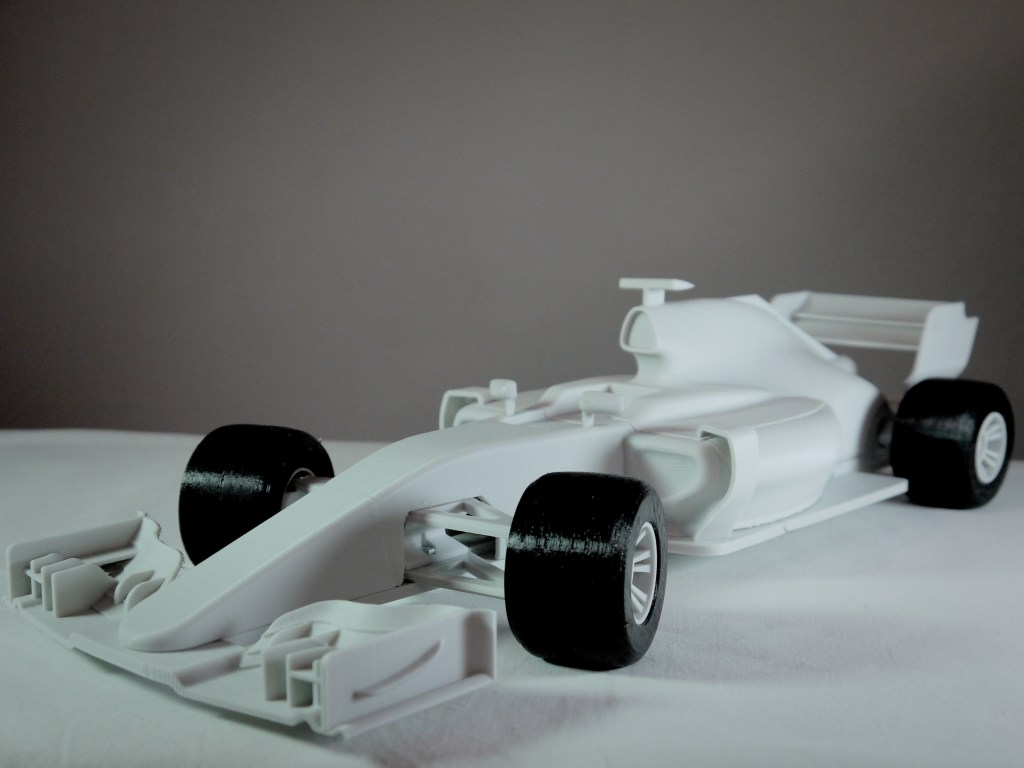 OpenRC F1 car - 1:10 RC Car by barspin