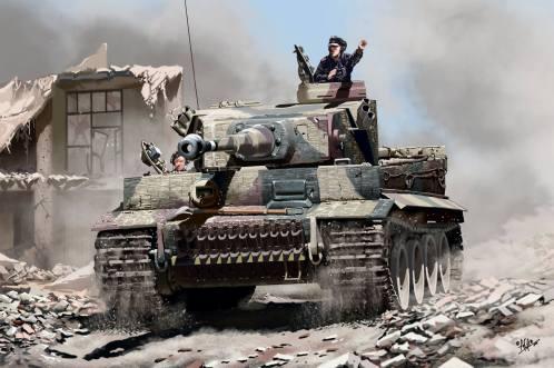 """Carro de combate alemán """"Tiger"""""""