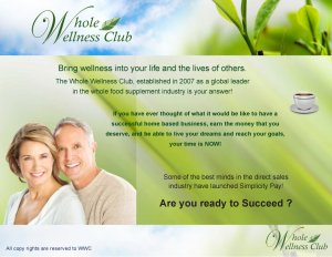 Top Ten Reasons to Build a Whole Wellness Club Business