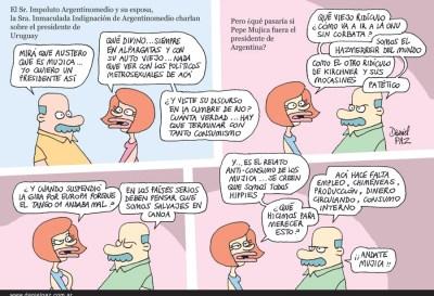 """""""mujica"""" por Daniel Paz"""