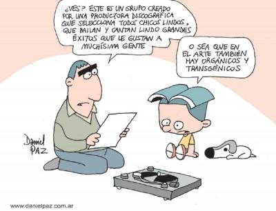 """""""organicos-y-transgenicos"""" por Daniel Paz"""