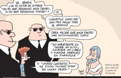 """""""seneca"""" por Daniel Paz"""