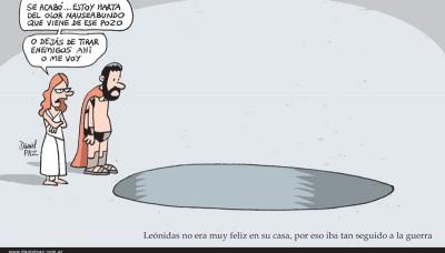 """leonidas"" por Daniel Paz"