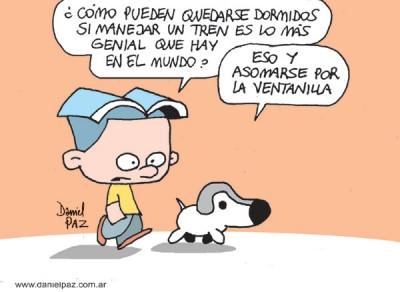 """manejar-el-tren"" por Daniel Paz"