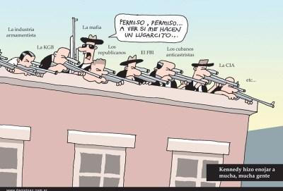 """kennedy"" por Daniel Paz"