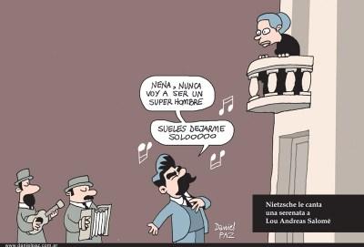 """""""la-serenata-de-Nietzsche"""" por Daniel Paz"""