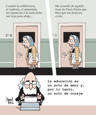"""""""paulo-freire"""" por Daniel Paz"""