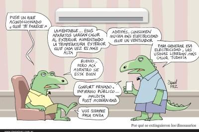 """""""dinosaurios"""" por Daniel Paz"""