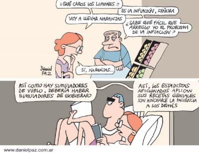 """""""Estadistas aficionados"""" por Daniel Paz"""