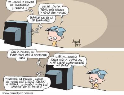 """""""la-pelota-de-pimpurro"""" por Daniel Paz"""