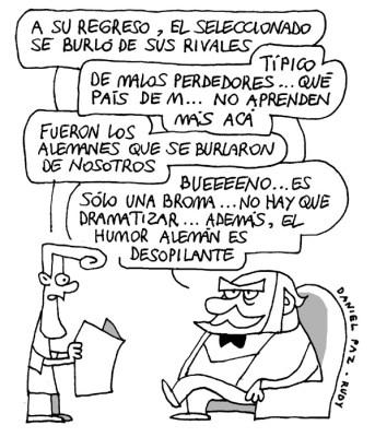"""""""humor-aleman"""" por Daniel Paz"""
