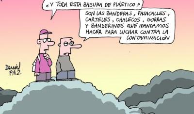 """lucha contra contaminacion"" por Daniel Paz"