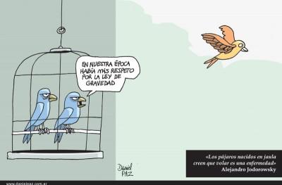 """Volar"" por Daniel Paz"